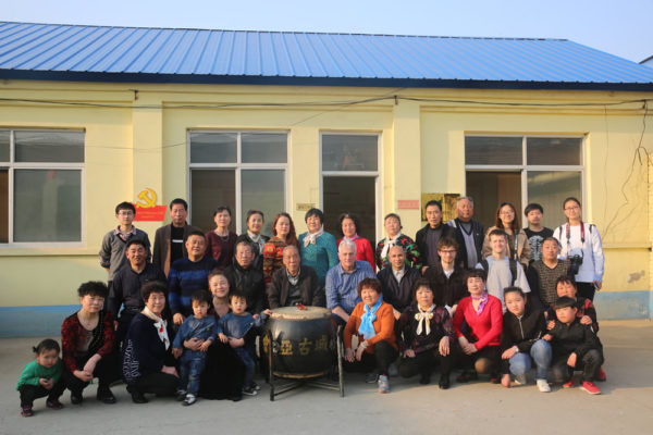 Musicians from Xiongxian with GSM
