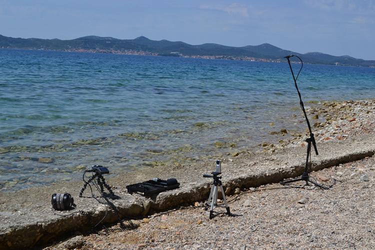 Adriatic Sea Recording - H6 Stereo + 2 DPA's