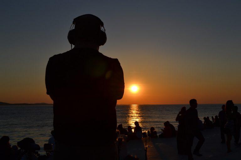 Zadar, Sea Organ - Sound check