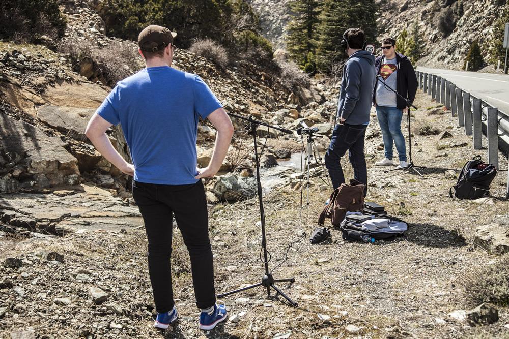 Recording the Trodoos mountains