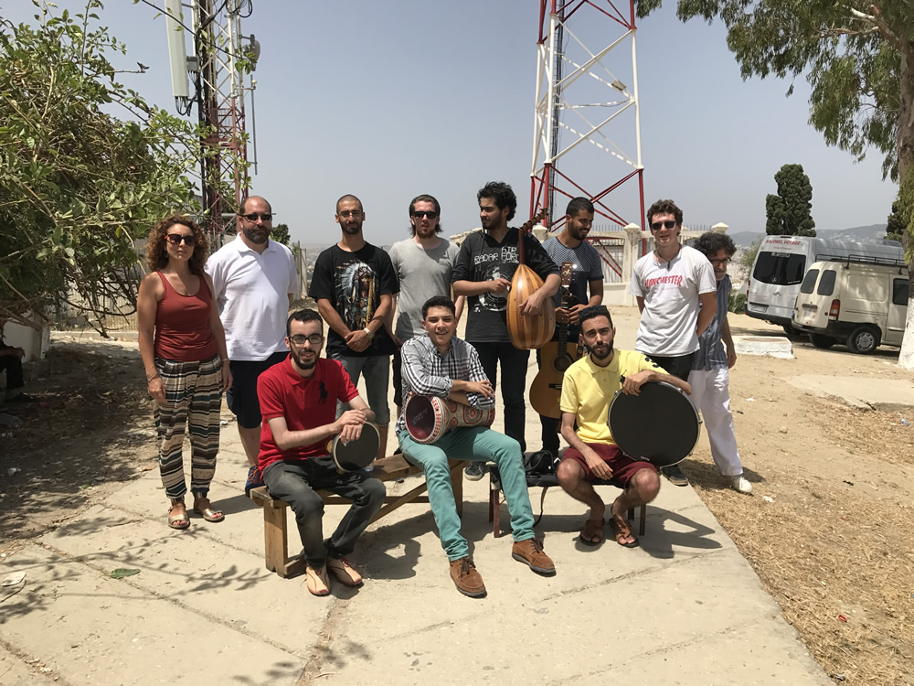Recording in Morocco