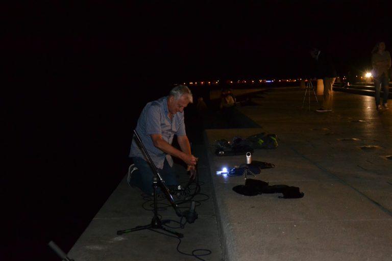 Zadar, Sea Organ - Close mic recording