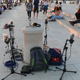 Recording the Sea Organ by day