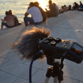 Recording the Sea Organ by day 6