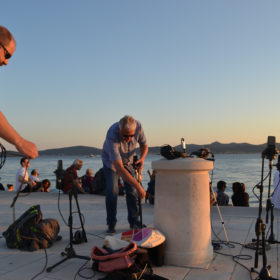 Recording the Sea Organ by day 7