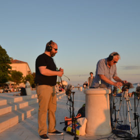 Recording the Sea Organ by day 9